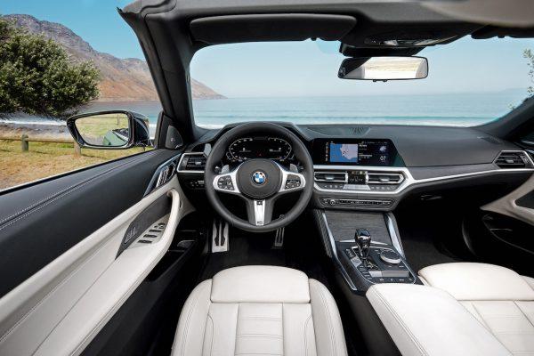 BMW 4er Cabriolet Innenraum