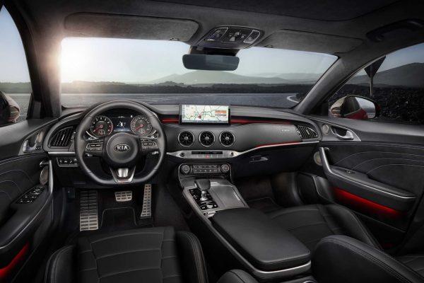 Kia Stinger GT 2021 Interieur