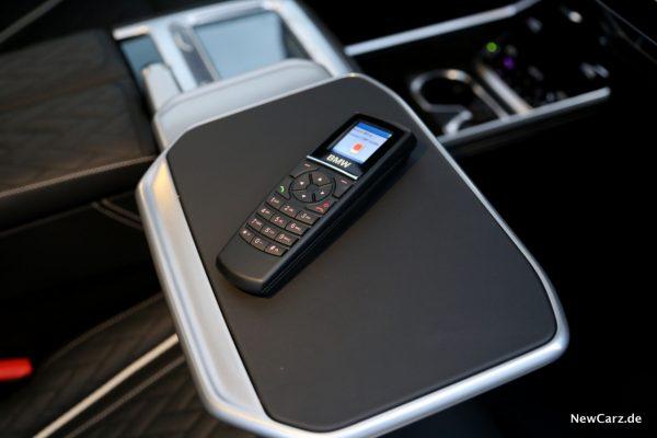 BMW Fondtelefon