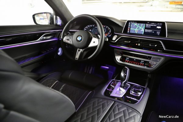 BMW M760Li xDrive Interieur