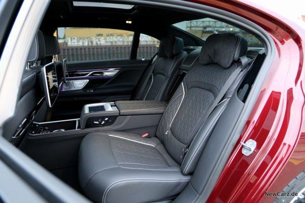 BMW G12 Fondsitz