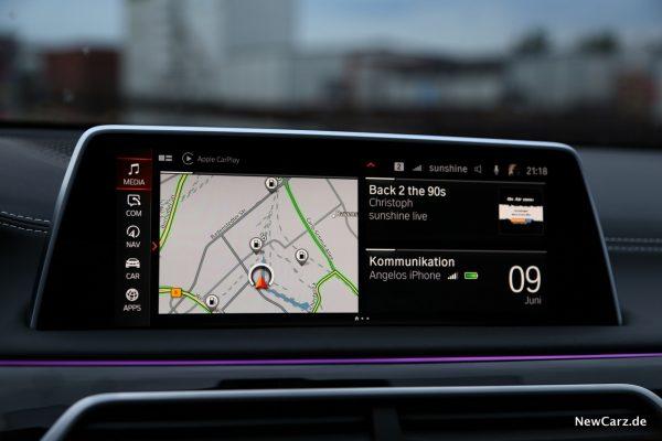 BMW 7er Zentralbildschirm