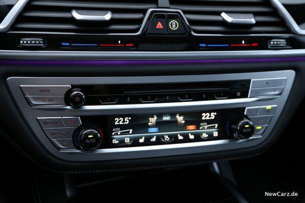 BMW M760Li xDrive Klimaautomatik