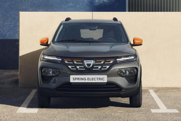 Dacia Spring Electric Front
