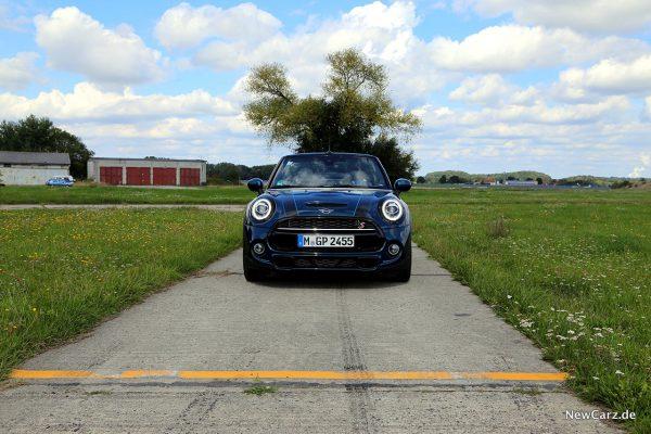 Mini Cooper S Cabrio Front
