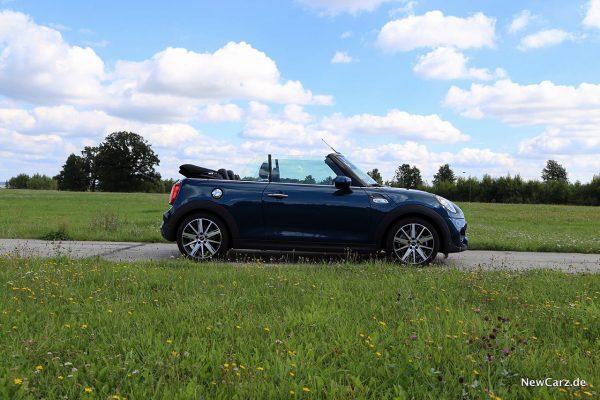 Mini Cooper S Cabrio Seite