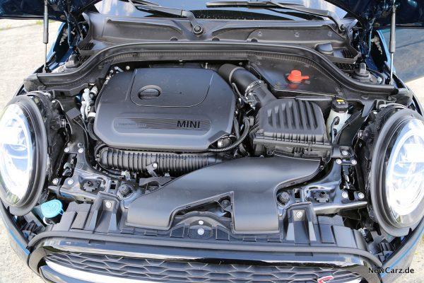Motorraum Mini Cooper S Cabrio