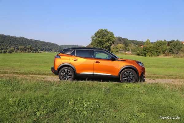 Peugeot 2008 II Seite
