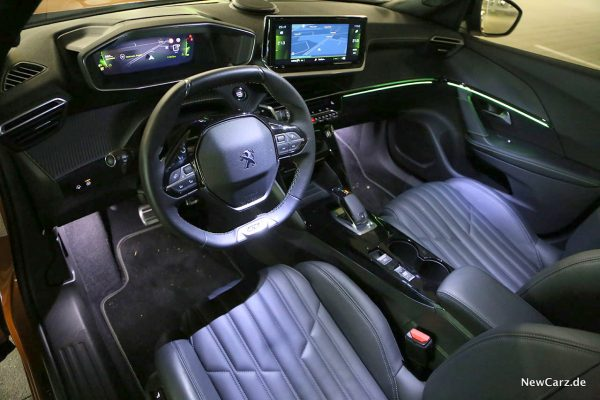 Interieur im Peugeot
