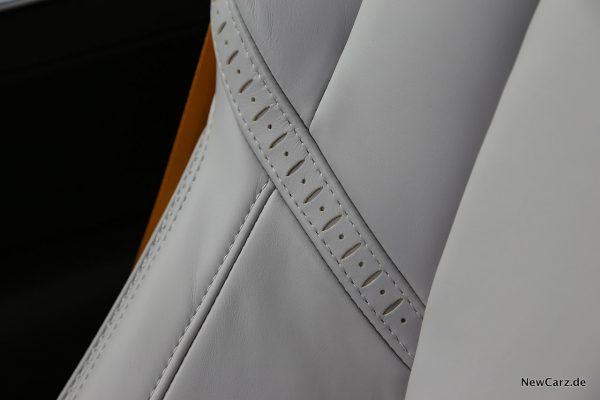 Ledersitz Detail