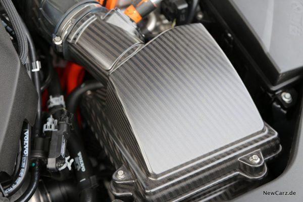 Luftfilter aus Carbon