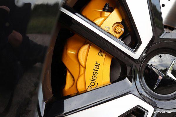 Bremssattel gelb