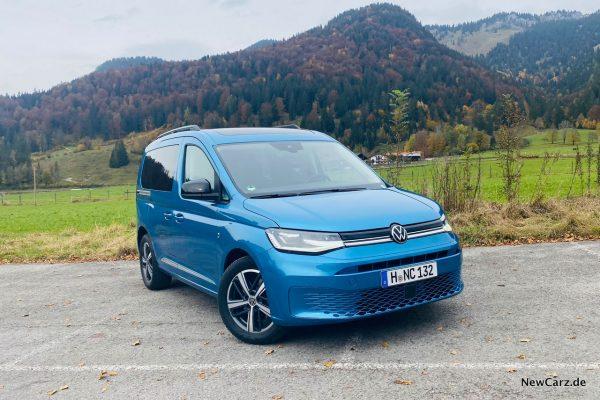 VW Caddy 2020 schräg vorne rechts