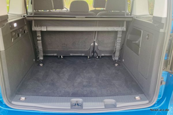 Kofferraum Caddy 5