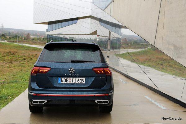 VW Tiguan Facelift Heck