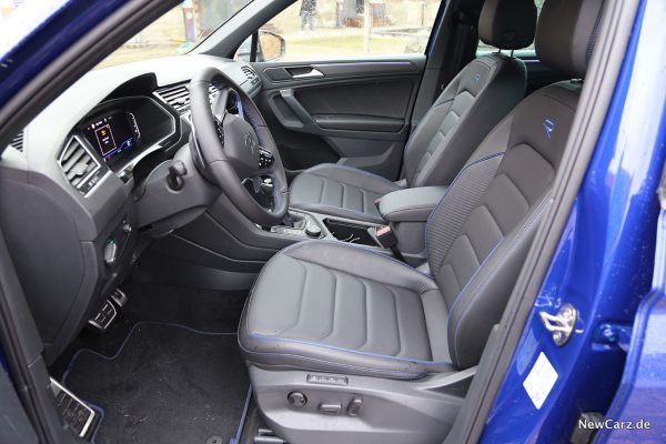 Interieur VW Tiguan Facelift R