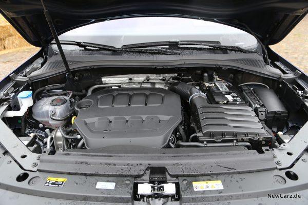 Motorraum Tiguan R