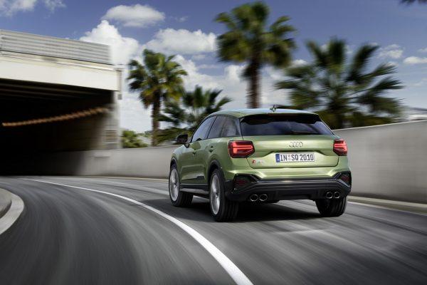 Audi SQ2 on road