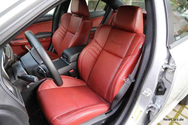 Vordersitze Dodge Charger SRT Hellcat