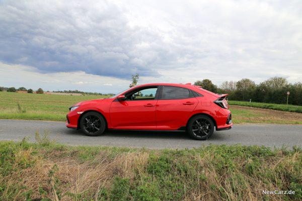 Honda Civic Facelift Seitenansicht links