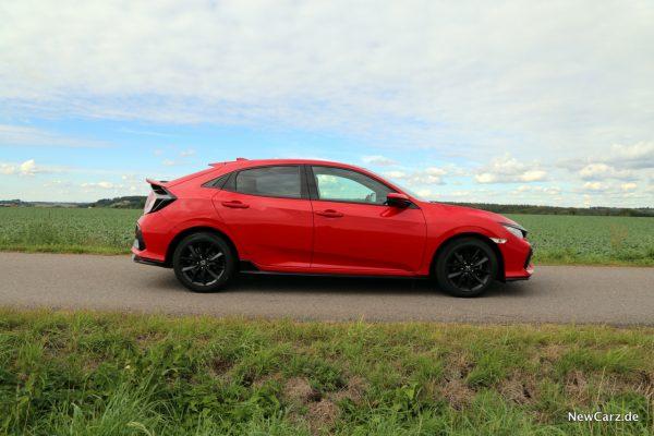 Honda Civic Facelift Seite