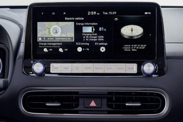 Zentraldisplay Hyundai