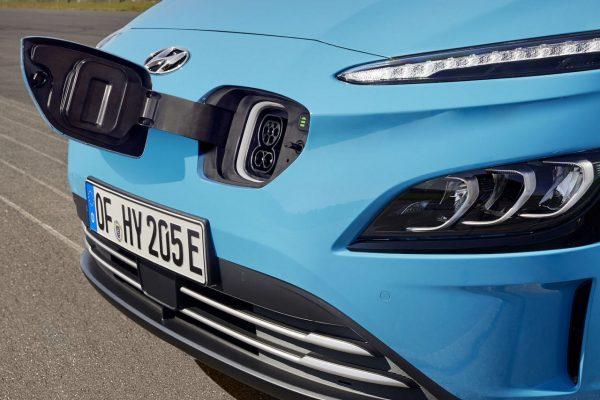 Ladeanschluss Hyundai Kona Elektro