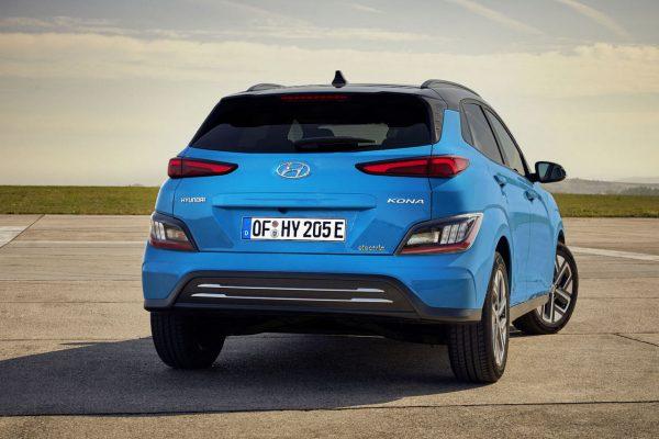 Hyundai Kona Elektro hinten
