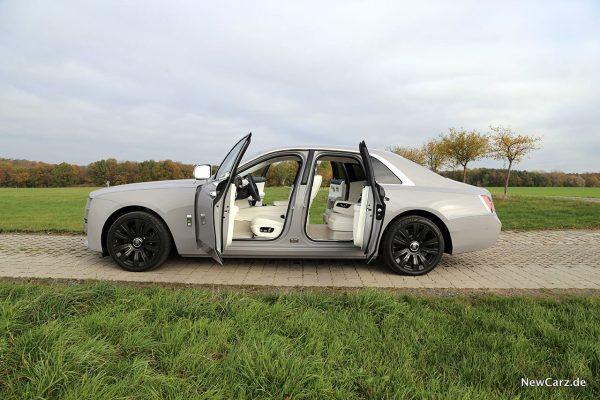 Rolls-Royce Ghost offene Türen