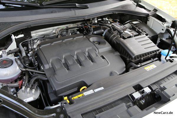 Motorraum mit TDI