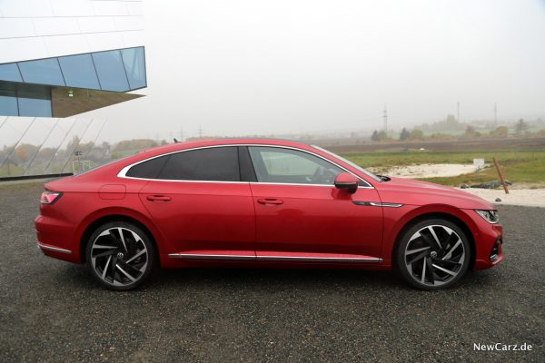 VW Arteon Facelift Seite