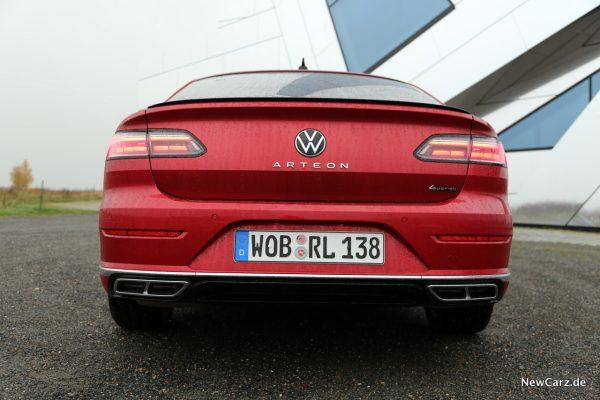 VW Arteon Facelift Heck
