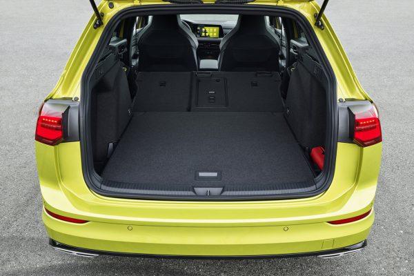 VW Golf 8 Variant Kofferraum