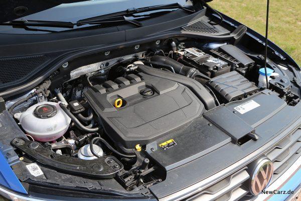 Motorraum Cabrio