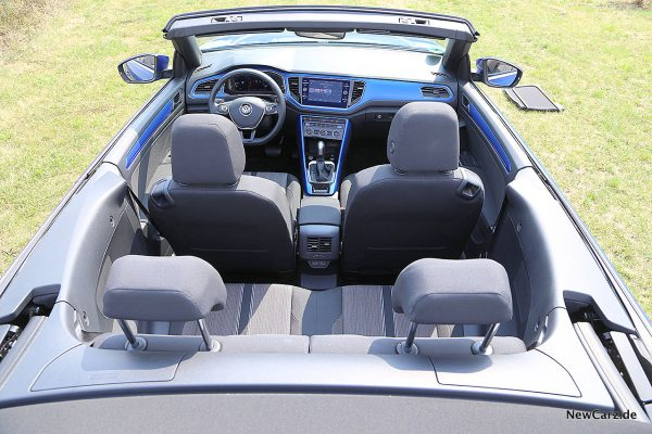 Fahrgastraum VW T-Roc Cabriolet