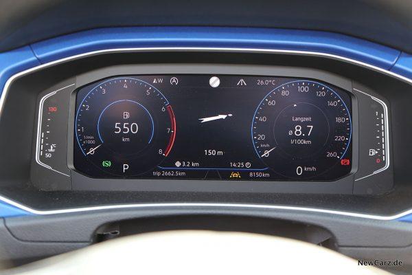 Verbrauch Drittelmix 1.5 TSI SUV