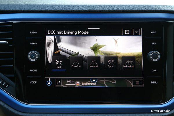 DCC Bildschirm