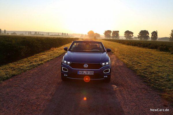 Offen fahren im VW T-Roc Cabriolet