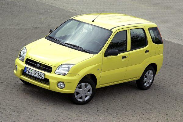 Subaru Justy FWD