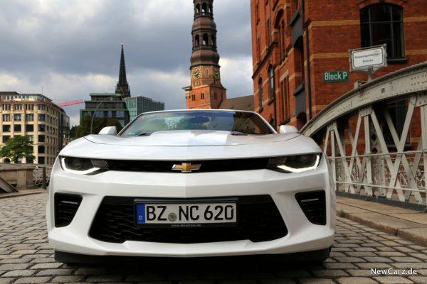 Camaro Cabrio V8 Front