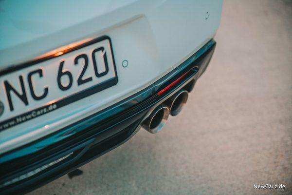 V8 Abgasanlage