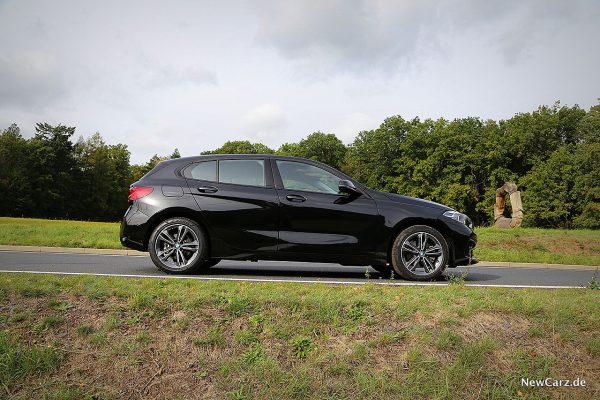 BMW 118i Seite