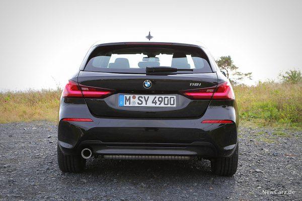 BMW 118i Heck