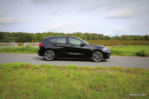 Seitenperspektive BMW 1er