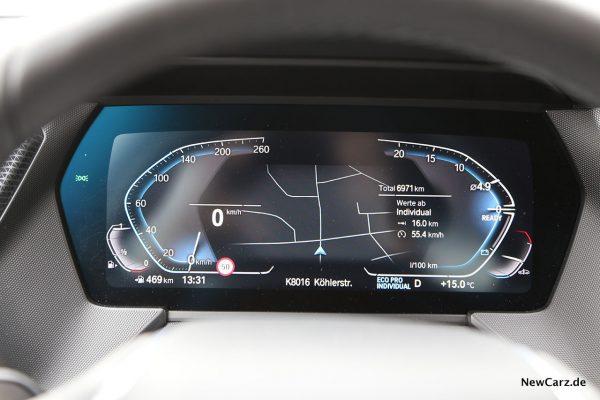 Digital Cockpit BMW