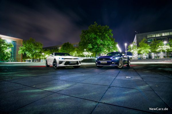Mustang Camaro Vergleich