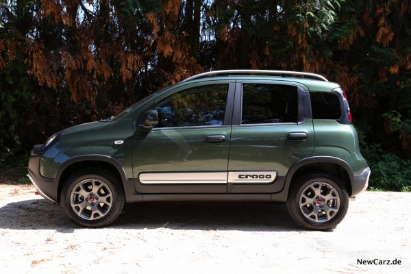 Fiat Panda 4x4 Cross Seite