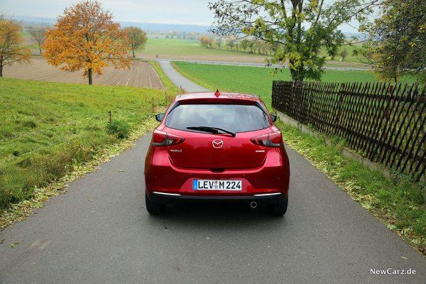 Mazda2 Heck