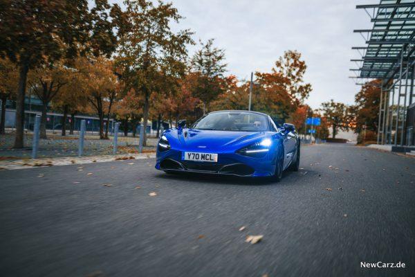 McLaren 720S Spider dynamisch