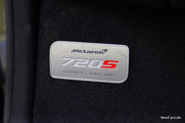 720S Emblem